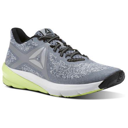 Reebok OSR Grasse Road Men's Running Shoes in Flint Grey / Skull Grey / Electric Flash / Black / White / Silver