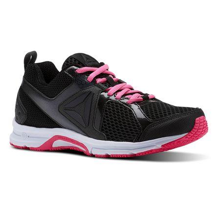 Reebok Runner 2.0 MT Women's Running Shoes in Black / Coal / Acid Pink / White