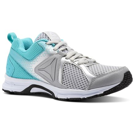 Reebok Shoes Runner 2.0 MT Women's Running in Skull Grey / Solid Teal / White / Black / Silver
