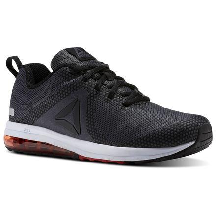 Reebok Jet Dashride 6.0 Men's Running Shoes in Black / Ash Grey / Primal Red / White / Silver Met