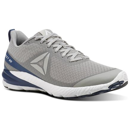 Reebok OSR Sweet Road SE Men's Running Shoes in Stark Grey / Washed Blue / White / Silver / Black