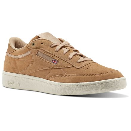 Reebok Club C 85 Montana Cans collaboration Unisex Court Shoes in Make Up / Chalk