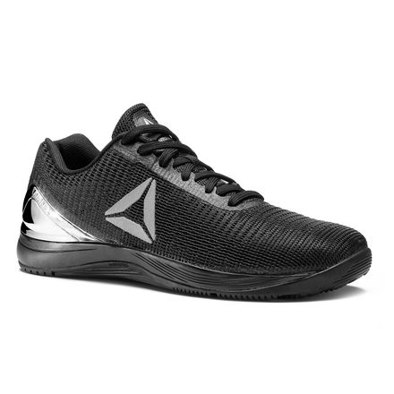 Reebok CrossFit Nano 7 Weave Men's Training Shoes in Met-Black / Silver Met
