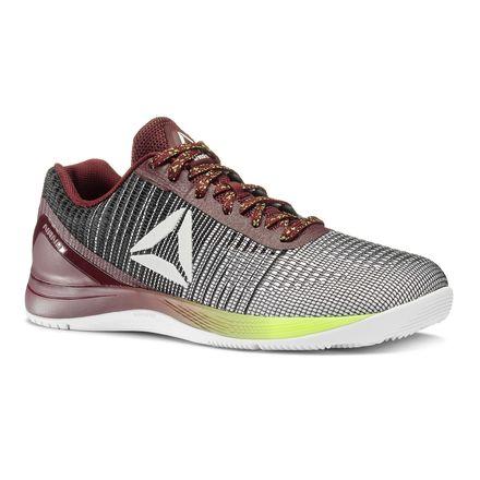 Reebok CrossFit Nano 7 Weave Men's Training Shoes in Maroon / White / Black / Solar Yellow