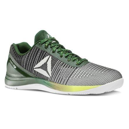 Reebok CrossFit Nano 7 Weave Women's Training Shoes in Dark Forest / White / Black / Solar Yellow
