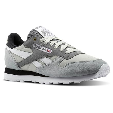 Reebok Classic Leather MCCS Men's Retro Running, Lifestyle Shoes in Marble