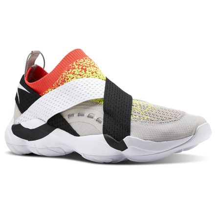 Reebok DMX Fusion AFF Unisex Retro Running Shoes in Sand Stone