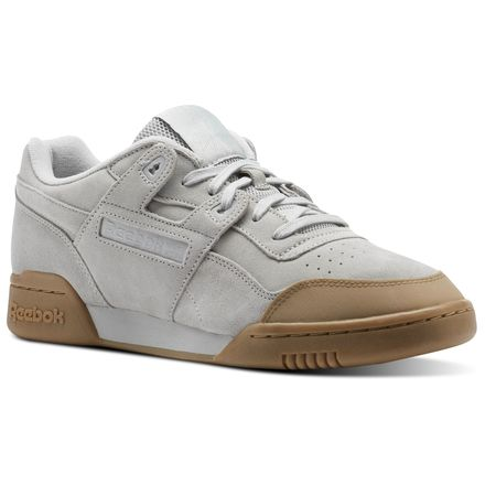 Reebok Workout Plus SKK Unisex Fitness Shoes in Skull Grey / Gum
