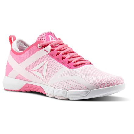 Reebok CrossFit Grace Women's Training Shoes in Poison Pink / White / Porcelain Pink