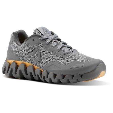 Reebok Zig Pulse - SE Women's Running Shoes in Solid Grey / Shark / Desert
