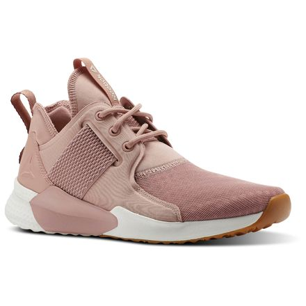 Reebok Guresu 1.0 Women's Dance Shoes in Chalk Pink / Urban Maroon / Chalk