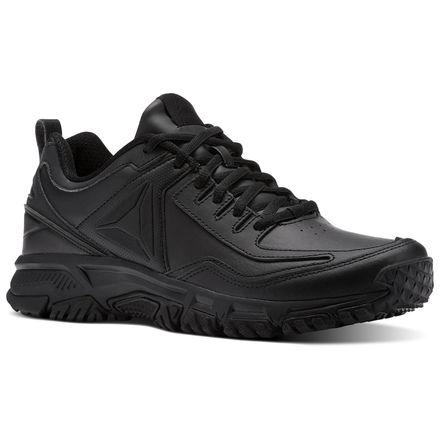 Reebok Ridgerider Leather Men's Walking Shoes in Black