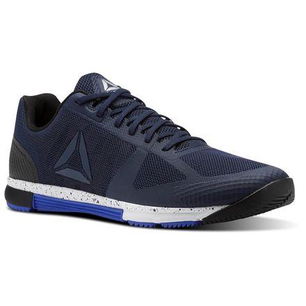 Reebok Speed TR Men's Training Shoes in Collegiate Navy / Acid Blue / Black / White