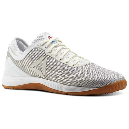 Reebok CrossFit Nano 8 Flexweave Men's Training Shoes in White / Classic White / Excellent Red / Blue / Gum