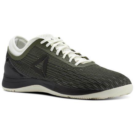 Reebok CrossFit Nano 8 Flexweave™ Men's Training Shoes in Hunter Green / Coal / Chalk