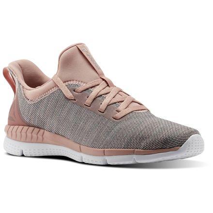 Reebok Print Her 2.0 BLND Women's Running Shoes in Pale Pink / Chalk Pink / Powder Grey / White