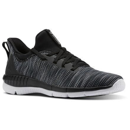 Reebok Print Her 2.0 BLND Women's Running Shoes in Black / White