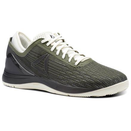Reebok CrossFit Nano 8 Flexweave™ Women's Training Shoes in Hunter Green / Coal / Chalk