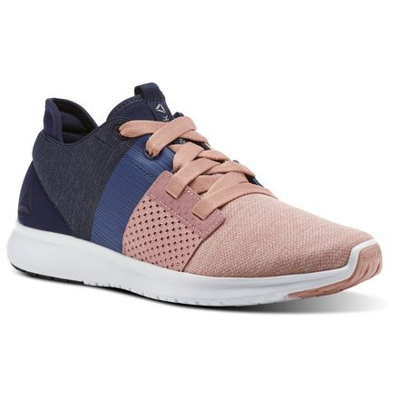 Reebok Trilux Run Women's Running Shoes in Pink / Washed Blue / Coll Navy / White