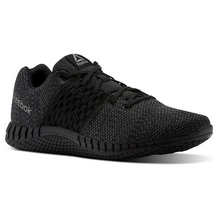 Reebok Print Run ULTK Men's Running Shoes in Black / Coal / Asteroid Dust / White / Pewter