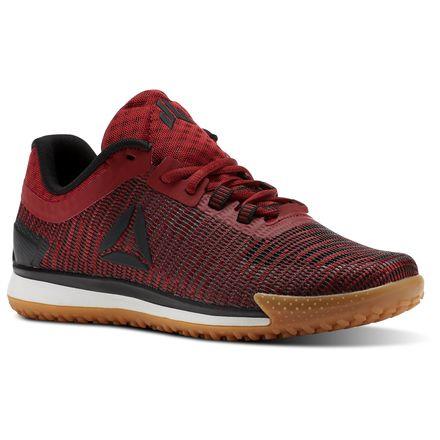 Reebok JJ II Low - Grade School Kids Training Shoes in Rich Magma / Primal Red / Black / Gum