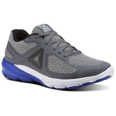 Reebok Harmony Road 2 Men's Running Shoes in Alloy / Stark Grey / White / Acid Blue / Black