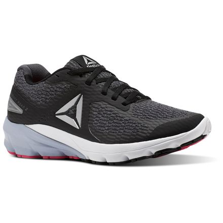 Reebok Harmony Road 2 Women's Running Shoes in Black / Ash Grey / White / Solid Pink