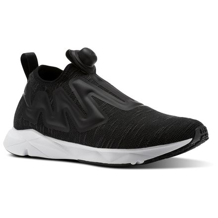 Reebok Pump Supreme Distressed Unisex Lifestyle Shoes in Black / White / Ash Grey