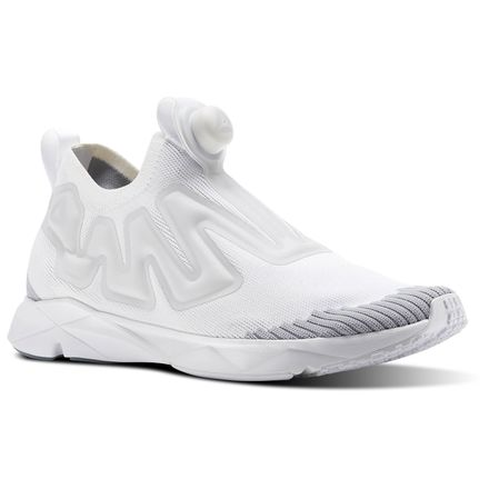 Reebok Pump Supreme ULTK Unisex Lifestyle Shoes in White / Cloud Grey