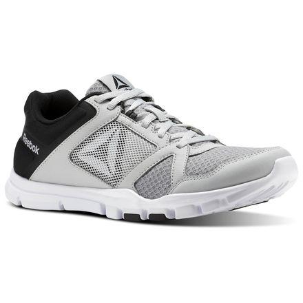 Reebok Yourflex Train 10 MT Men's Training Shoes in Skull Grey / Black / White