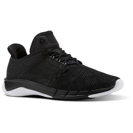 Reebok Fast Flexweave™ Women's Running Shoes in Black / Coal / Flint Grey / White