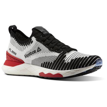 Reebok FLOATRIDE 6000 Men's Running Shoes in Black / Coal / Ash Grey / Primal Red / White