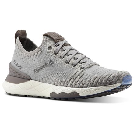 Reebok Floatride 6000 Women's Running Shoes in Powder Grey / Stark Grey / Smoky Taupe / White