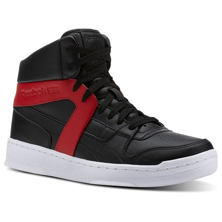 Reebok BB 5600 Premium Men's Basketball Shoes in Black / Red