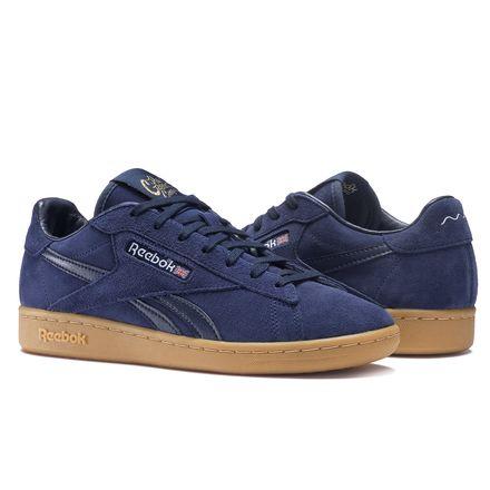 Reebok x The Good Company NPC UK Men's Court Shoes in Collegiate Navy / Dreamy Blue / Gum