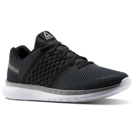 Reebok PT Prime Runner Men's Running Shoes in Black / Gravel
