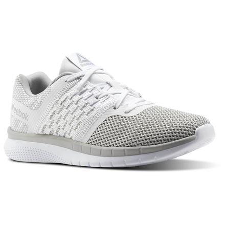 Reebok PT Prime Runner Women s Running Shoes in White   Steel ... 4a8839d178