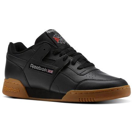 Reebok Workout Plus Unisex Fitness Shoes in Black / Carbon / Gum