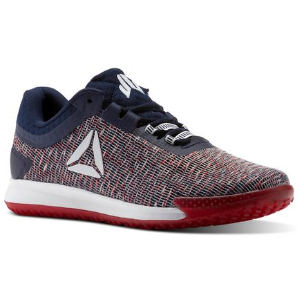 Reebok JJ II Men's Training Shoes in White / Collegiate Navy / Primal Red / Excellent Red