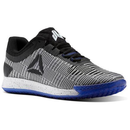 Reebok JJ II Men's Training Shoes in White / Black / Acid Blue