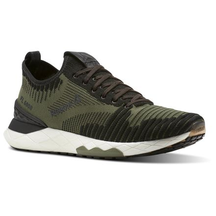 Reebok Floatride 6000 Men's Running Shoes in Hunter Green / Black / Coal / White
