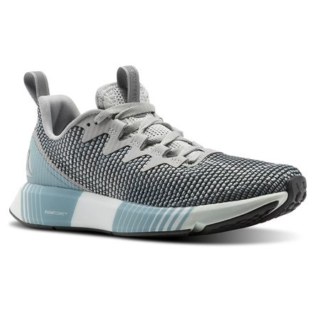Reebok Fusion Flexweave™ Women's Running Shoes in Skull Grey / Stark Grey / Whisper Teal