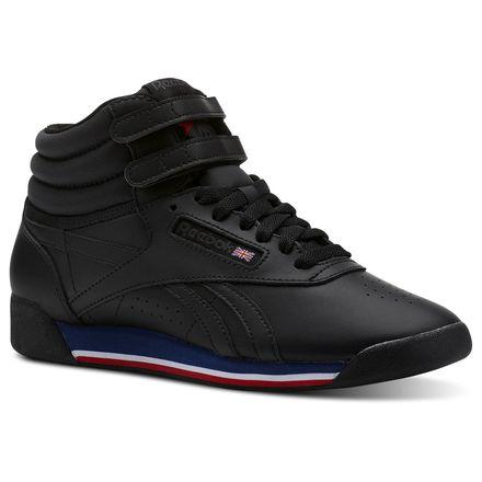 Reebok Freestyle Hi Women's Fitness, Lifestyle Shoes in Retro / Black
