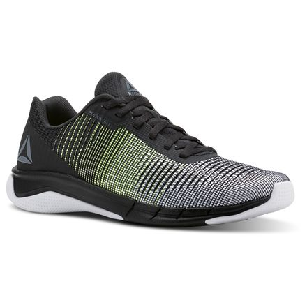 Reebok Fast Flexweave™ Men's Running Shoes in Alloy / Electric Flash / Coal / White
