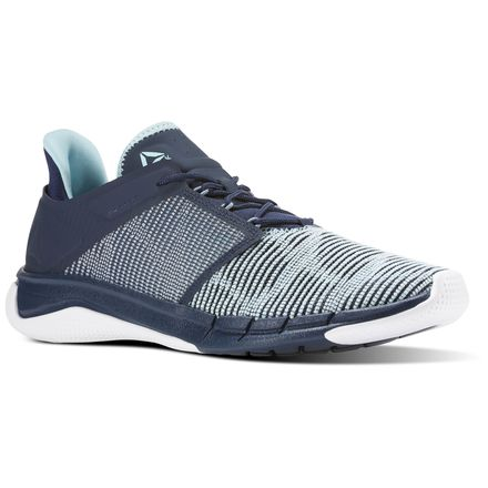 Reebok Fast Flexweave™ Women's Running Shoes in Collegiate Navy / Blue Lagoon