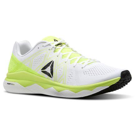 Reebok Floatride Run Fast Men's Running Shoes in Solar Yellow / White
