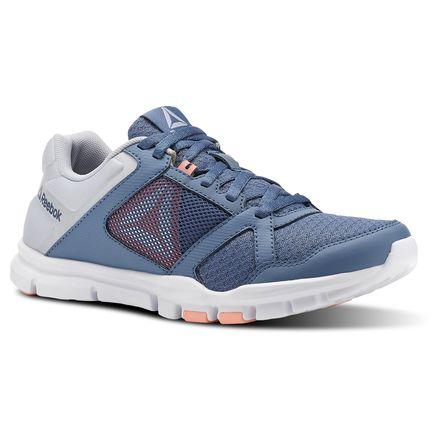 Reebok Yourflex Trainette 10 Women's Training Shoes in Blue Slate