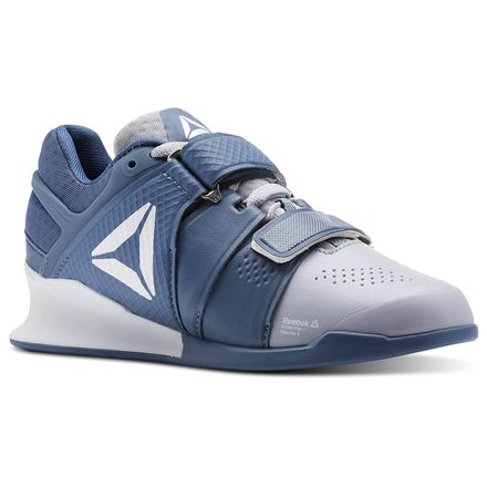 Reebok Legacy Lifter Women's Training Shoes in Cloud Grey / Blue Slate