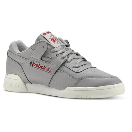 Reebok Workout Plus Vintage Men's Fitness, Lifestyle Shoes in Grey
