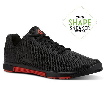 Reebok Speed TR Flexweave® Men's Training Shoes in Black / Carotene